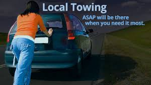 Local towing when you need it